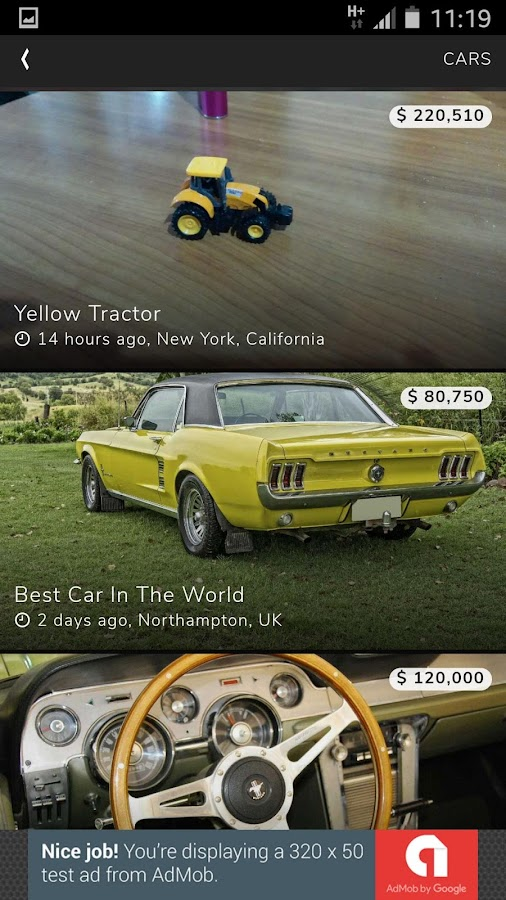 Classifieds by PSSThemes- screenshot