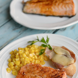 Simple Broiled Salmon.