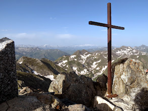 Photo: sommet du mont Valier : 2838 m