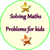 Solving Maths Problems for kids