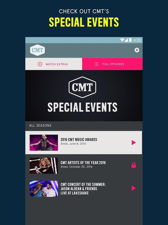 CMT — TV Shows, Country & More - Android Apps On Google Play