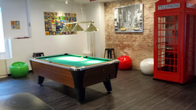 Photo: pool room