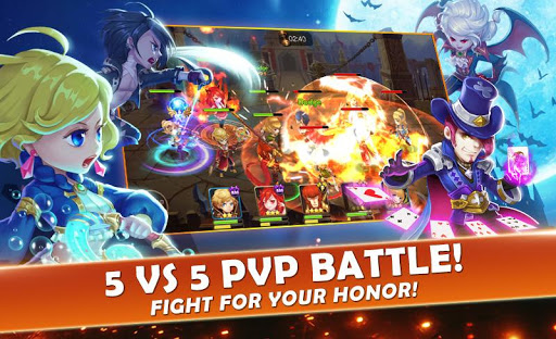 Code Triche Seven Paladins SEA: 3D RPG x MOBA Game APK MOD screenshots 4