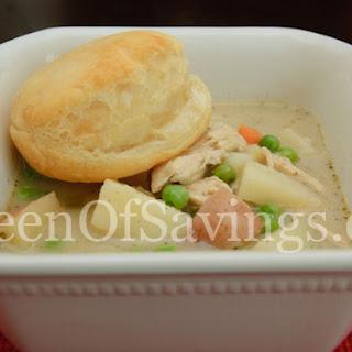 Chicken Vegetable Pie Soup