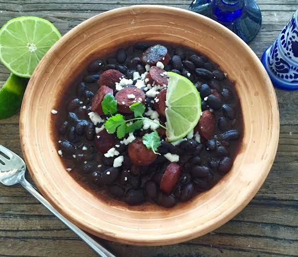 Sassy N' Smoky Mexican Style Black Beans Recipe