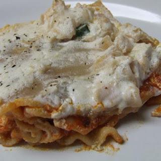 Gluten And Dairy Free Alfredo Lasagna