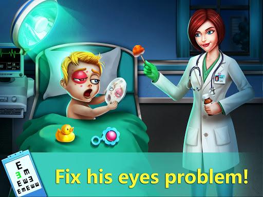 ER Hospital 4 - Zombie Eyes Doctor Surgery Game 1.1 Mod screenshots 2