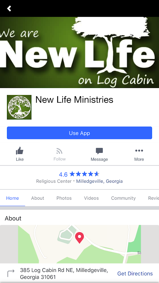 New Life Ministries COG- screenshot