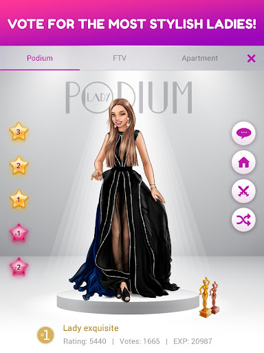 Lady Popular: Fashion Arena apkdebit screenshots 16