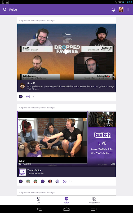 Twitch – Screenshot
