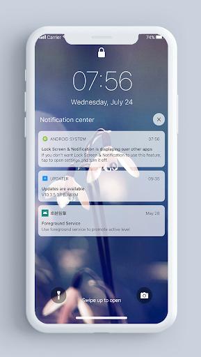 Lock Screen & Notifications iOS 13 2.2.2 Screenshots 5