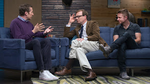 Chris Hardwick Wears a Black Polo & Weathered Boots thumbnail