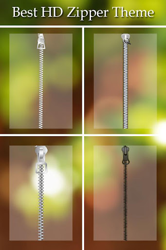 Transparent Zipper Lock