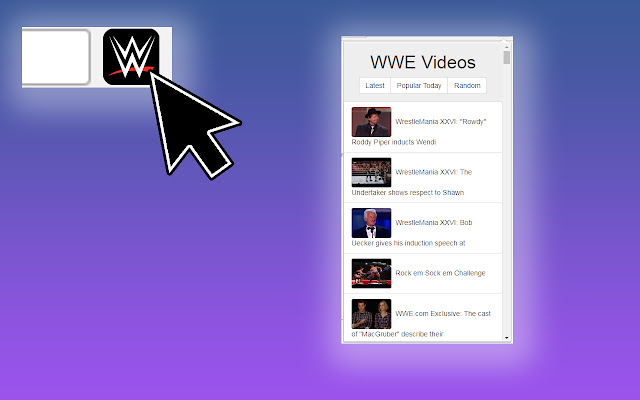 Latest WWE Videos