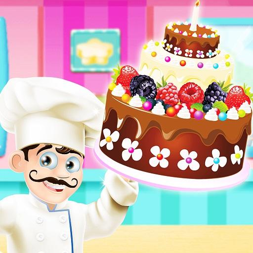 Cake Bakery Shop Sweet Cooking Color By Number