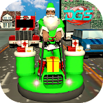 Santa Claus Christmas Gift Delivery Simulator Icon