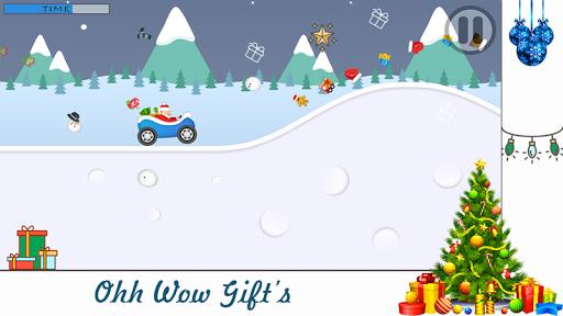 Snowyboard Ice Hill Climb Road: Christmas Santa 1.1 screenshots 2