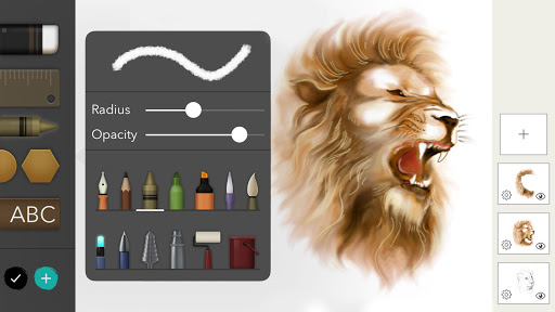 Drawing Desk Draw Paint Color Doodle & Sketch Pad 5.7.0 screenshots 1