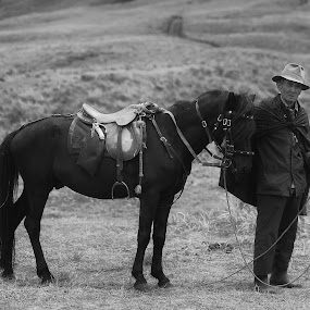Coachman Horse in Bromo by Sony Harsono - People Portraits of Men ( coachman horse, bromo )