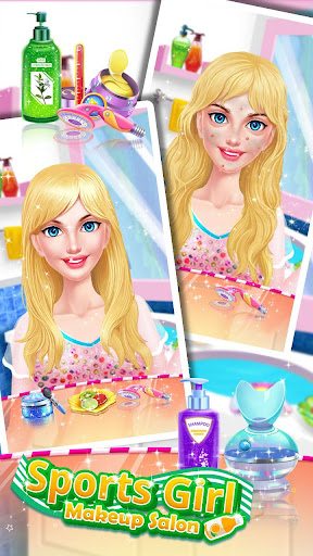 ud83dudc67ud83dudc57Sports Girl Makeup - Keep Fit  screenshots 7