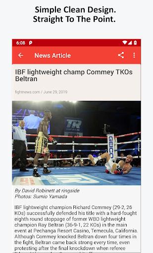 Boxing News, Videos, & Social Media 3.7 screenshots 5