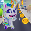 Unicorn Runner 2. Magical Running Adventure icon