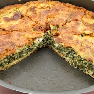Spanakopita (Greek Spinach Pie).