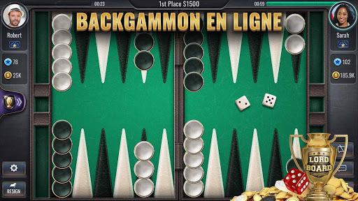 Backgammon - Lord of the Board  captures d'u00e9cran 1