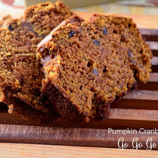 Pumpkin Cranberry Bread.