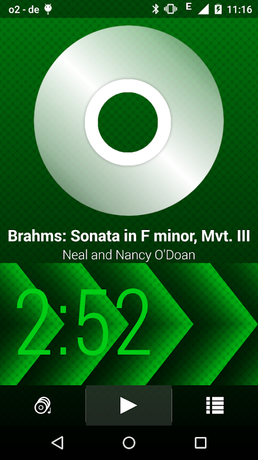 Lithium Music Player- screenshot