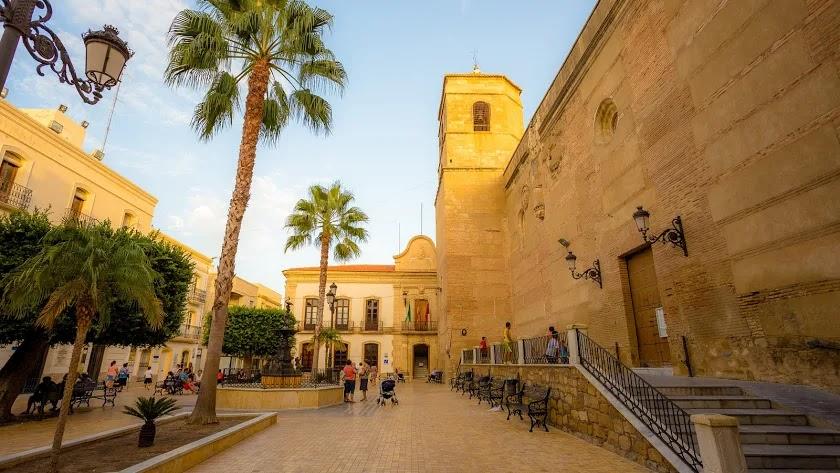 Casco urbano del municipio de Vera.