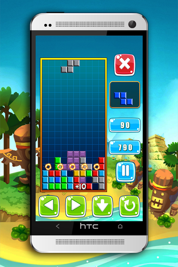Classic Puzzle Brick Tetris- screenshot