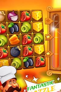Match 3 Pizza: Kitchen Crash screenshot 0