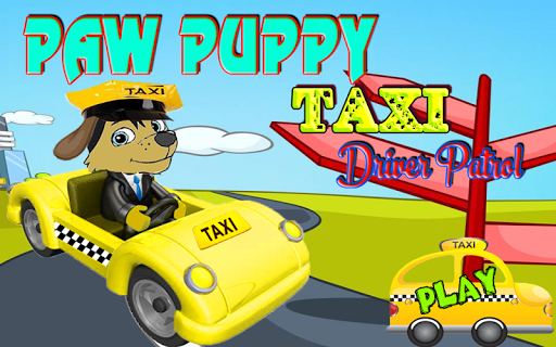 Paw Puppy Taxi Patrol Driver