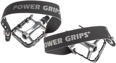 "Power Grips High Performance Pedals/Strap Combo - Plastic, 9/16"", Black alternate image 0"