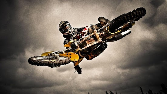 Dirt Bike Jump Wallpaper - náhled