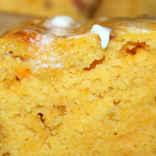 Sweet Potato Cornbread.