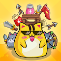 Cat'n'Robot: Idle Defense - Cute Castle TD PVP icon
