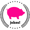 Funny jokes and pictures icon