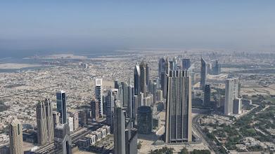 Photo: Blick vom Burj Khalifa