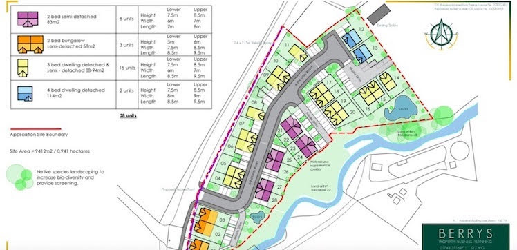 Affordable homes plan for Guilsfield