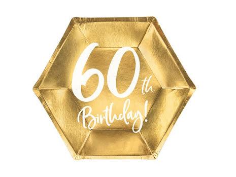 Assietter - 60th birthday