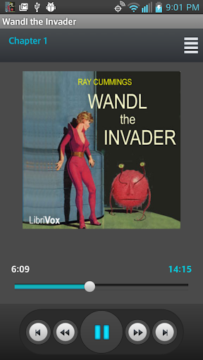 Wandl the Invader Audio book