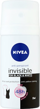 Nivea Invisible Black and White Ladies 48h Antiperspirant Deodorant Spray - 35ml