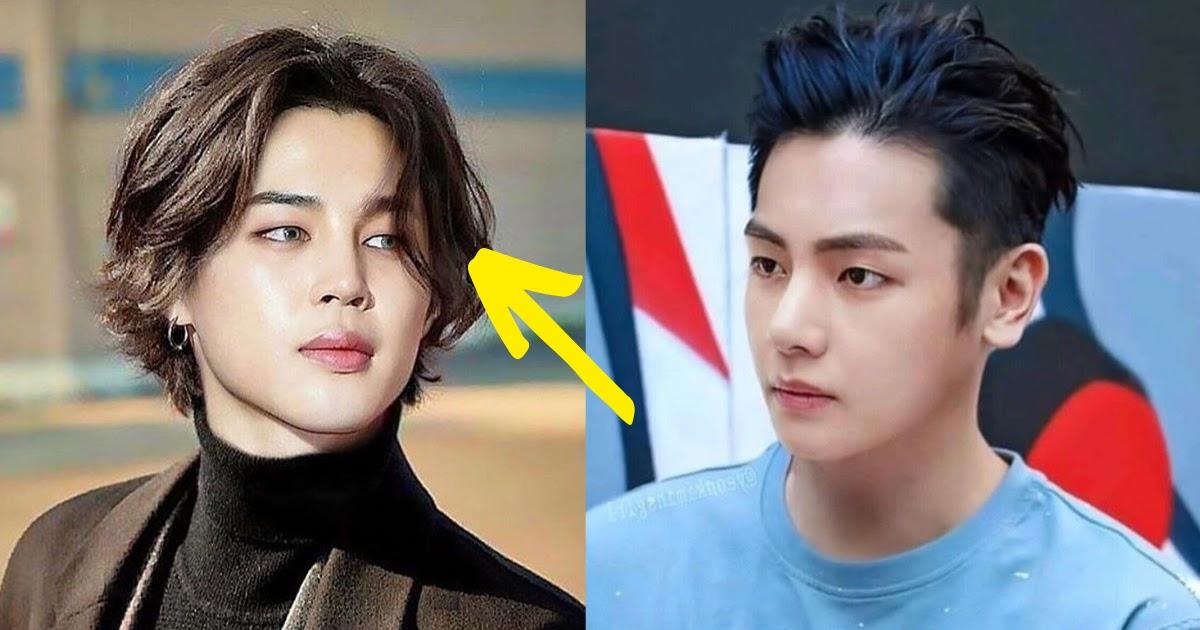 14 Bts Fan Edited Hairstyles We Wish Were Real Koreaboo