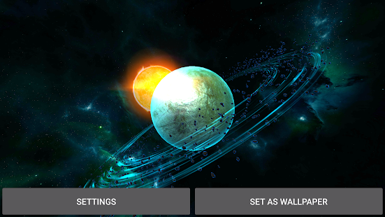 Gyro Space Planets  3D Screenshot