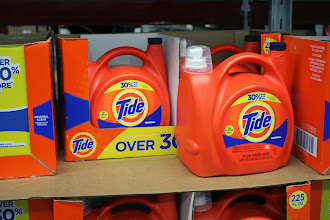 Photo: The liquid Tide was also on sale.