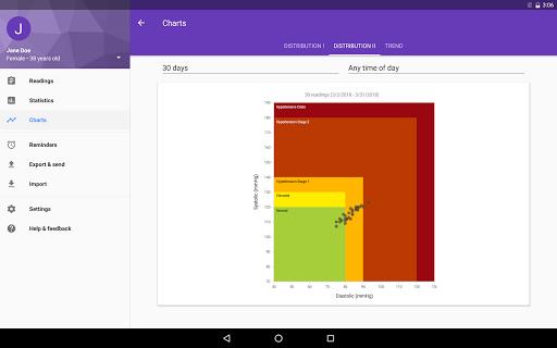 BP Journal - Blood Pressure Diary 1.0.42 screenshots 11