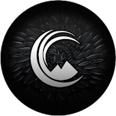 Crow White - Icon Pack