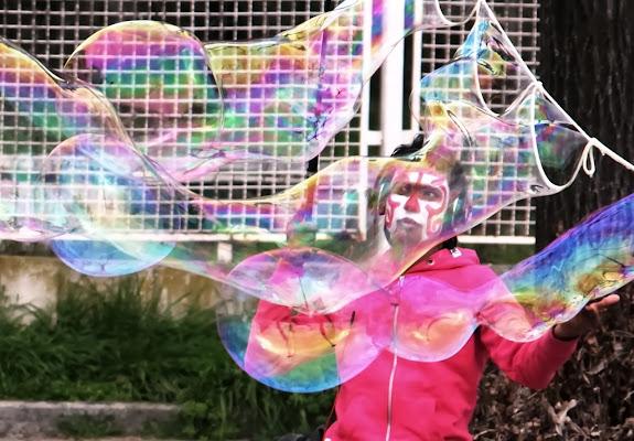 Bubble  Man di FZATOX